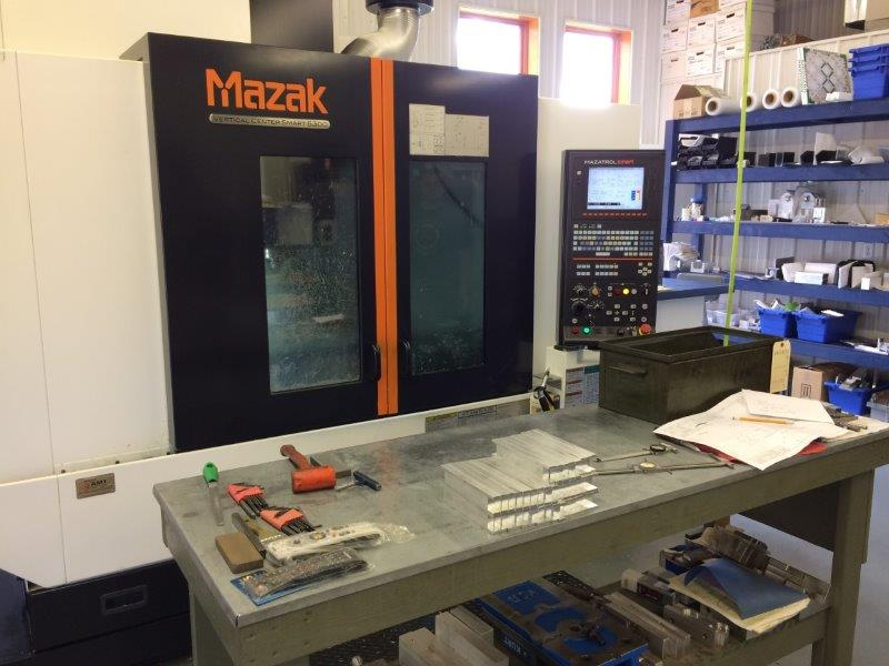 mazak work area